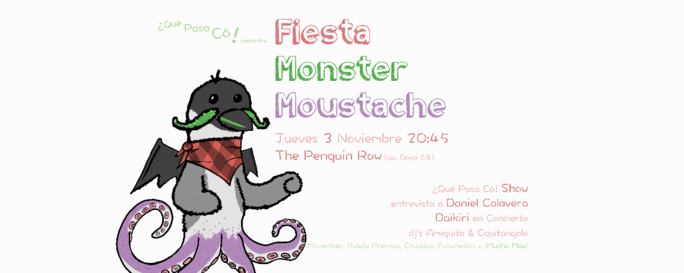 Fiesta Monster Moustache